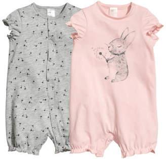 H&M 2-pack Pajamas - Pink