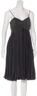 Giorgio Armani Pleated Midi Dress