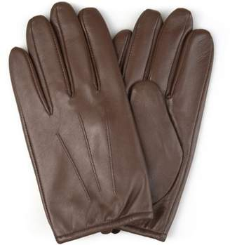Territory Mens Lined Genuine Leather Driving Gloves