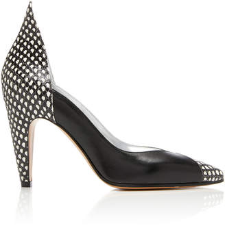 Givenchy Paneled Leather Pumps