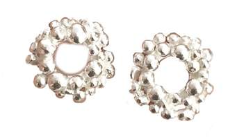 Lily Flo Jewellery Rock Chic Circle Stud Earrings