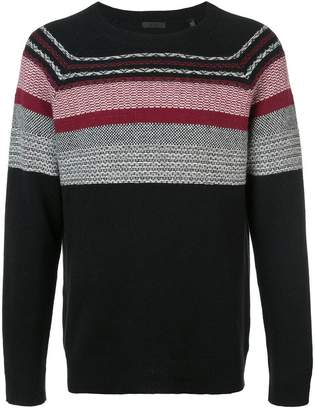 ATM Anthony Thomas Melillo contrast knit jumper