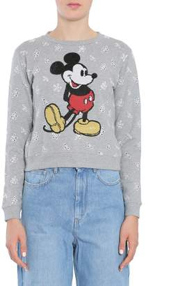 Marc Jacobs Mickey Mouse Embroidered Sweater