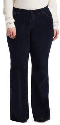 Lafayette 148 New York Lafayette 148 New York, Plus Size Mercer Flare Jeans