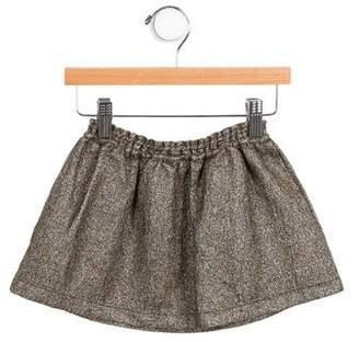 Babe & Tess Girls' Metallic Skirt