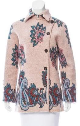 Etro Knit Jacquard Button-Up Jacket