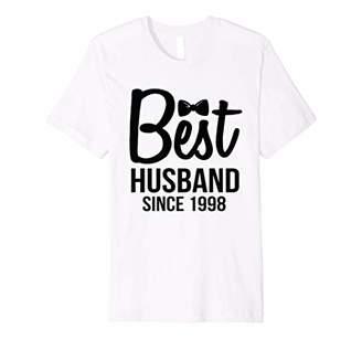 Best Husband Since 1998' Sweet Wedding Anniversary Shirt