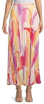Robert Graham Aria Woven Floor-Length Skirt