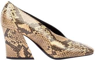 Dries Van Noten Brown Leather Heels
