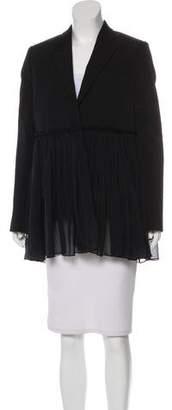 Givenchy Wool Peak-Lapel Blazer