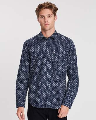 Ben Sherman Long Sleeve Vintage Floral Shirt