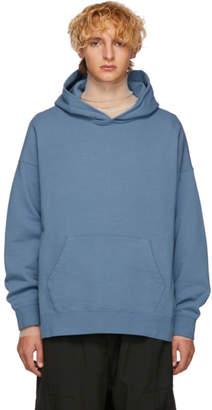 Visvim Blue Jumbo Hoodie