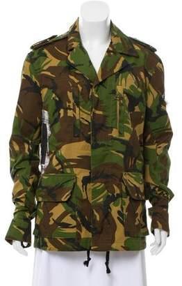 Faith Connexion Patchwork Camouflage Jacket