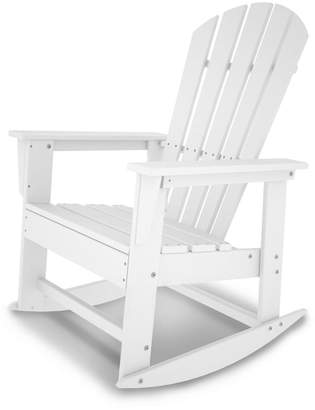 Polywood South Beach Outdoor Rocking Adirondack Chair