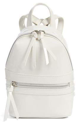 BP Faux Patent Leather Mini Backpack