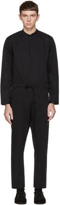 Isabel Benenato Black Cotton Jumpsuit $760 thestylecure.com