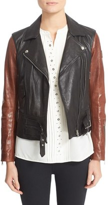 Women's Belstaff Colefort Waxed Leather Jacket $1,695 thestylecure.com