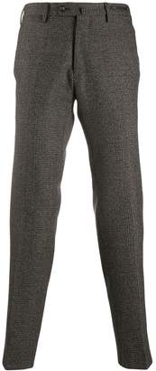 Pt01 Madras checked trousers