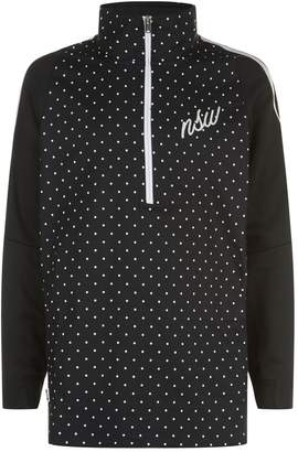 Nike Polka Dot Half Zip Sweater