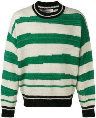 Isabel Marant asymmetric stripe sweater