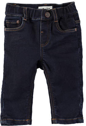 Molo Sven Dark-Wash Denim Jeans, Size 6-24 Months