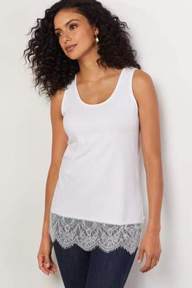 Soft Surroundings Madame Lace Tank