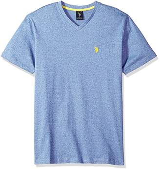 U.S. Polo Assn. Men's Short Sleeve V-Neck Solid T-Shirt