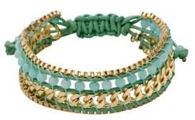 Pilgrim Vilma Beaded Leather Cord Bracelet