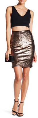English Factory Sequin Pencil Skirt $95.20 thestylecure.com