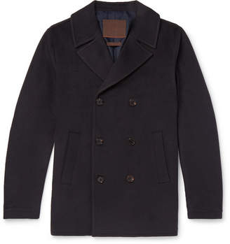Altea Double-Breasted Cashmere Peacoat - Men - Navy