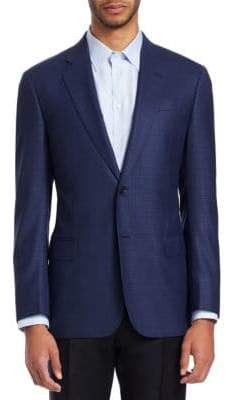 Emporio Armani Marled Wool Sportcoat