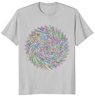 Fun Design Crazy Pinwheel T-Shirt