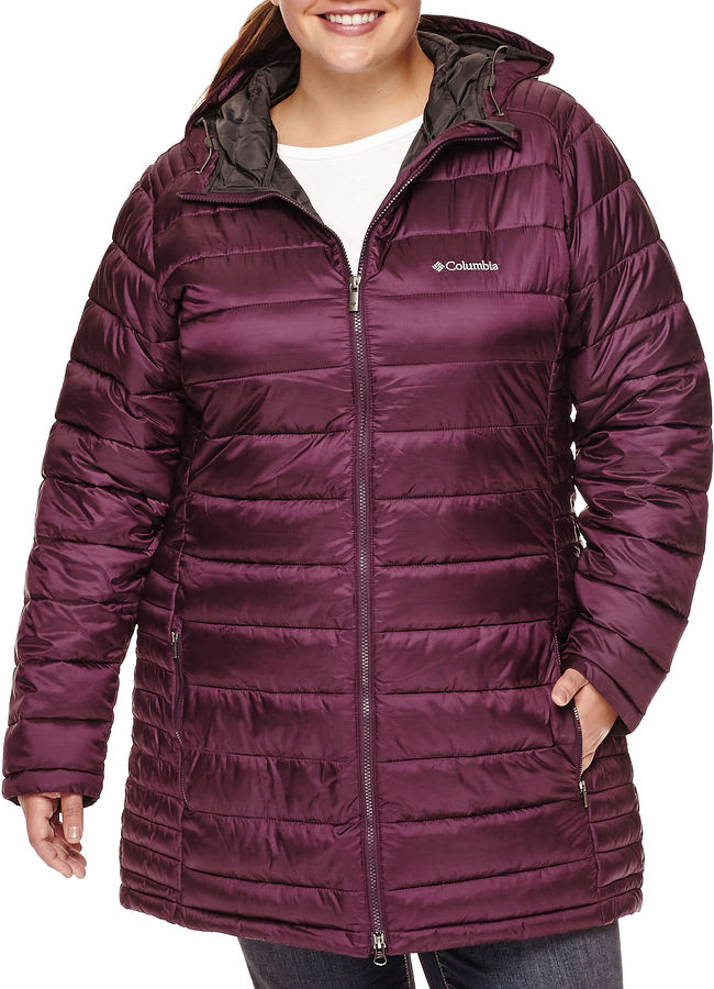 Columbia Columbia Frosted Ice Puffer Jacket - Plus