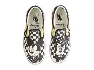 Vans Kids Mickey's 90th Classic Slip-On (Little Kid/Big Kid)