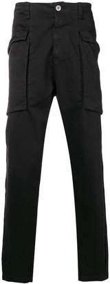 Transit side pouch pocket trousers