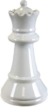 Sagebrook Home Ceramic Queen Chess Piece Figurine