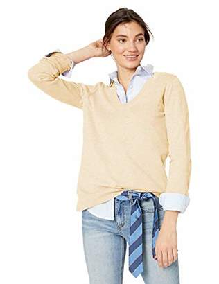 J.Crew Mercantile Women's Cotton V-Neck Sweater