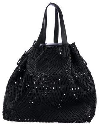 Nina Ricci Woven Leather Tote