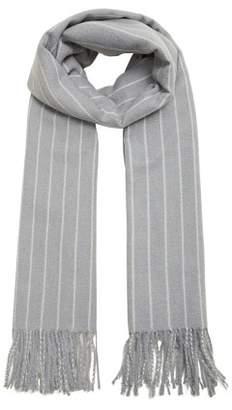 MANGO Bicolor striped scarf