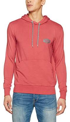 Cross Men's 25049 Sports Hoodie, (Faded Red), Medium