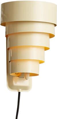 Rejuvenation Cream-Colored Streamline Wall Lamp