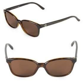 Gucci 42MM Rectangle Sunglasses