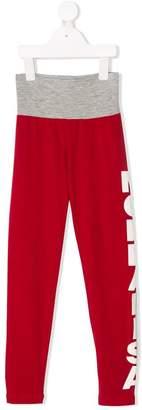 MonnaLisa logo jogging trousers