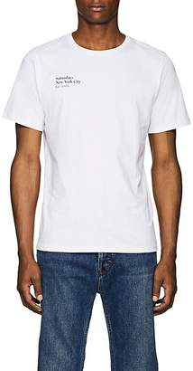 Saturdays NYC Men's Rag Logo-Print Cotton Jersey T-Shirt