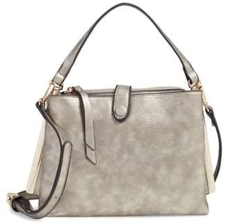 Sondra Roberts Faux Leather Crossbody Handbag