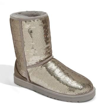 UGG Australia Classic Short Sparkle Genuine Shearling Boot $169.95 thestylecure.com