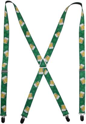 Buckle Down Buckle-Down Unisex-Adults Suspender-St. Pats