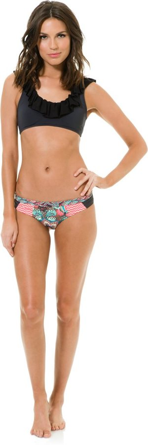 Maaji Dark Night Captain Reversible Bikini Top