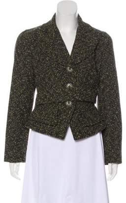Christian Lacroix Tweed Wool-Blend Blazer