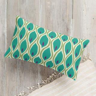Pea-cockeyed Lumbar Pillow
